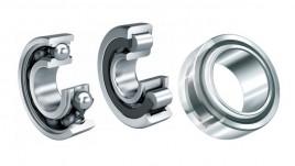 Rolling bearings and plain bearings