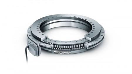 Axial / radial bearings with integrated measuring system